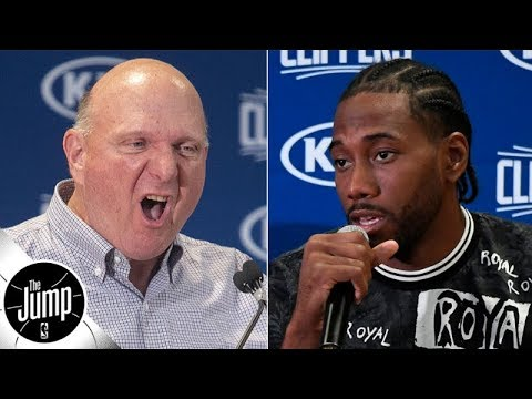 Kawhi Leonard told Steve Ballmer 'if you don't change your team, I'm not coming' – report | The Jump