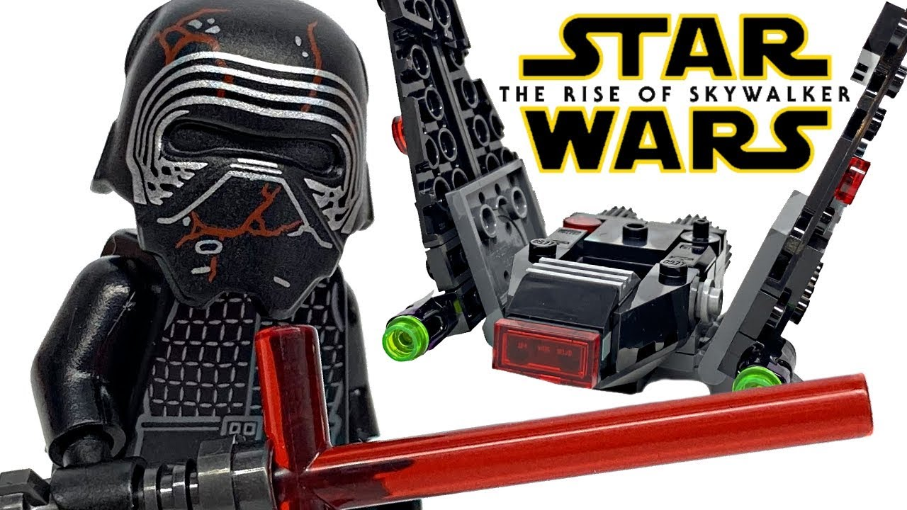 Lego Star Wars Kylo Ren S Shuttle Microfighter Review 2020 Set 75269 Youtube