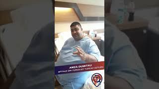 Micșorarea Stomacului: Testimonial Dumitru Amza - Spitale din Turcia by Tuncay Ozturk