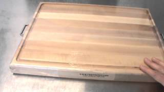 Maple Cutting Board With Handles
