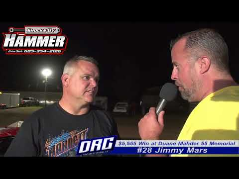 Red Cedar Speedway 8/11/17 Post Race Interview with Jimmy Mars