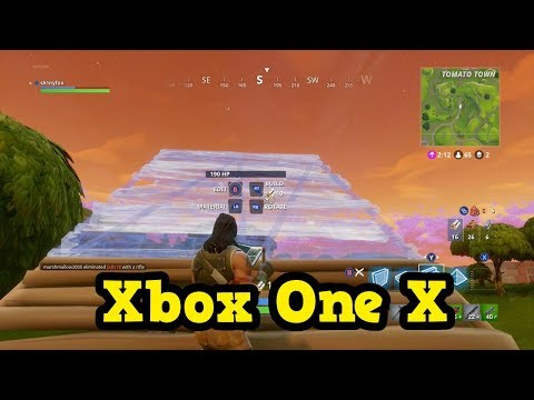 FORTNITE BATTLE ROYALE Xbox One X Enhanced - STREAM-MAS