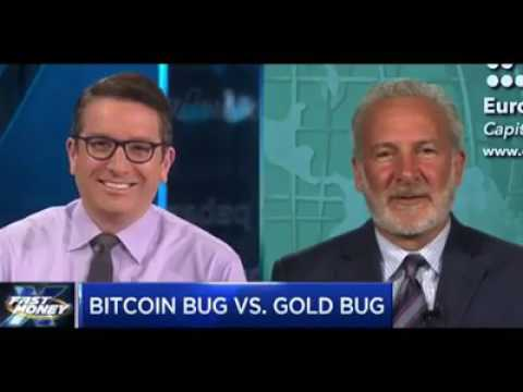 CNBC | Peter Schiff Debates Bitcoin Vs Gold