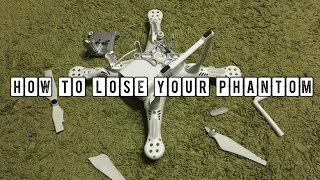 How to lose your Phantom 3 by icing