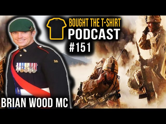 FIX BAYONETS! | The Battle Of Danny Boy | Brian Wood MC | Bought The T-Shirt Podcast #151