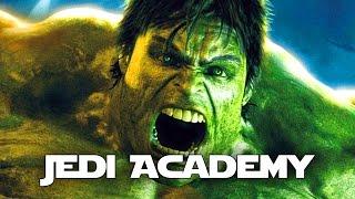 THE INCREDIBLE HULK Mod! Jedi Academy (Star Wars)