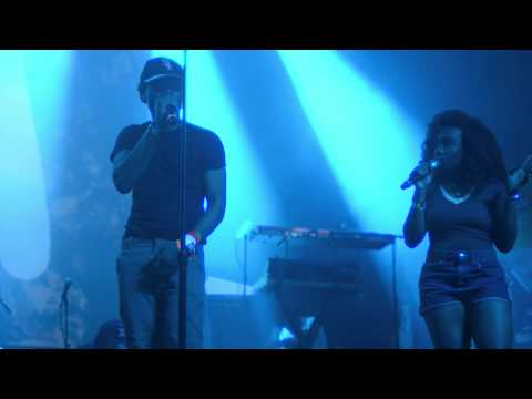 Chance The Rapper + SZA Perform 'Child's Play' In Austin #DimplezTV
