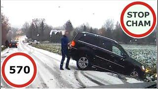 Stop Cham #570 - Niebezpieczne i chamskie sytuacje na drogach