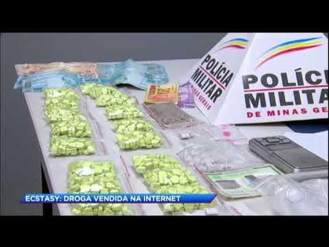 Casal é preso por vender droga na internet em MG