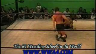 WWA4 Cutter Wrestling Move Mike Black v Reece Royale