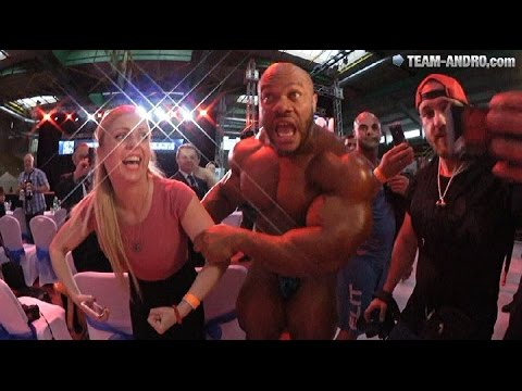 the heath is on   Phil Heath Posing + Interview (May 22nd 2016)