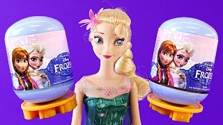 6 Brand New 2015 Frozen Surprise Eggs Disney Princess Anna Elsa Huevos Juguete Sorpresa