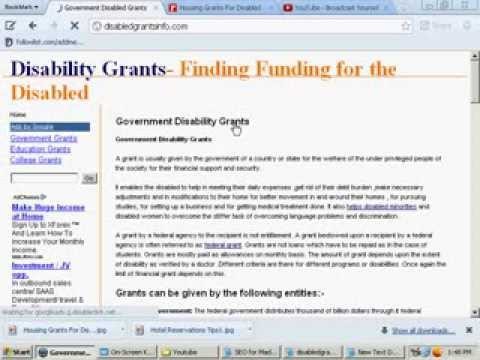 Housing Grants For Disabled