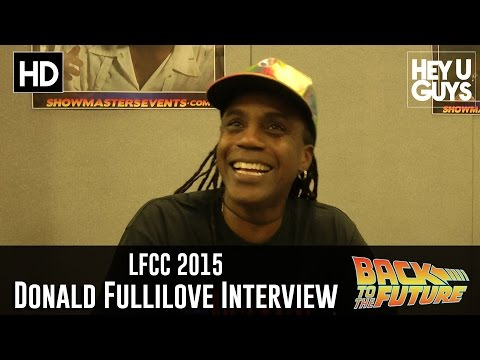Donald Fullilove (Goldie Wilson) Interview -  LFCC 2015 (Back to the Future 30th Anniversary)