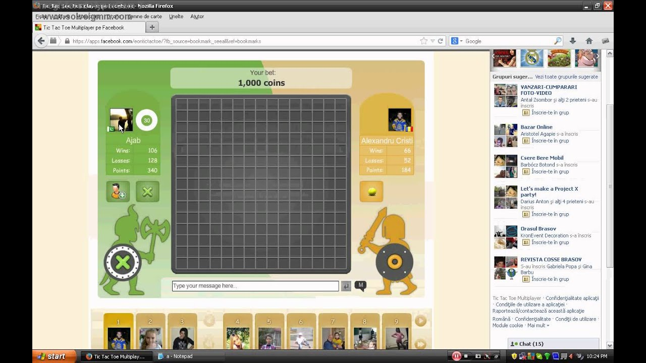 Tic Tac Toe Online Multiplayer