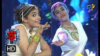 Aqsa Khan Performance   Dhee 10    4th April 2018     ETV Telugu