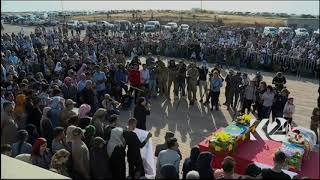 Funeral held for Kurdish politician purportedly killed by Turkey-backed fighters in Syria