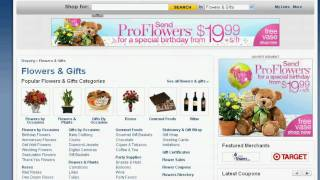 Display Banner Ad Yahoo Shopping
