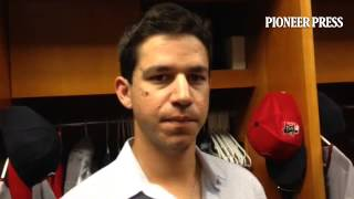 Video: Tommy Milone after his first outing in 25 days. #mntwins