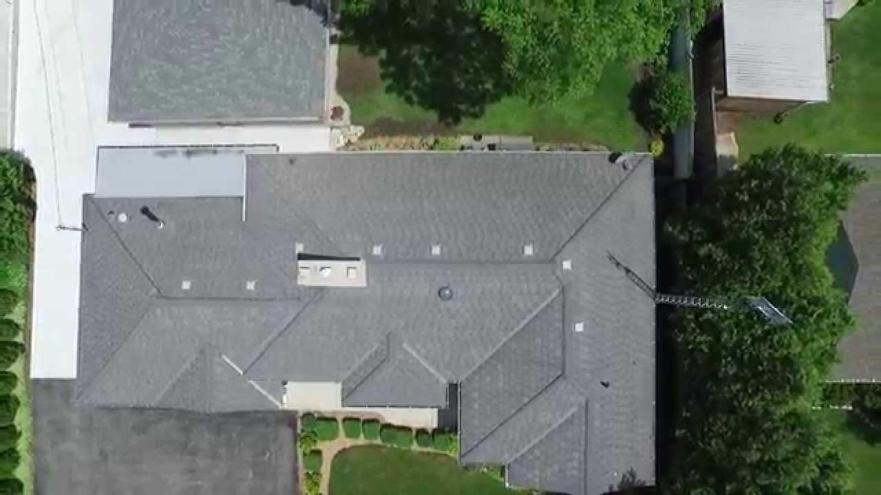 Enviroshake Roof Aerial View Youtube
