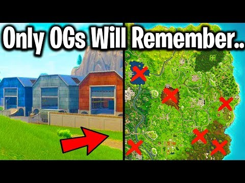 RANKING EVERY LOCATION EVER REMOVED FROM FORTNITE