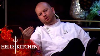 Argument Breaks Out Over Raw Chicken   Hell's Kitchen