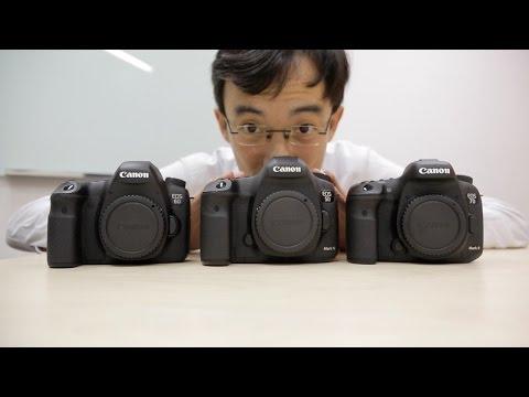 Canon 7D Mark II vs 5D Mark III vs 6D