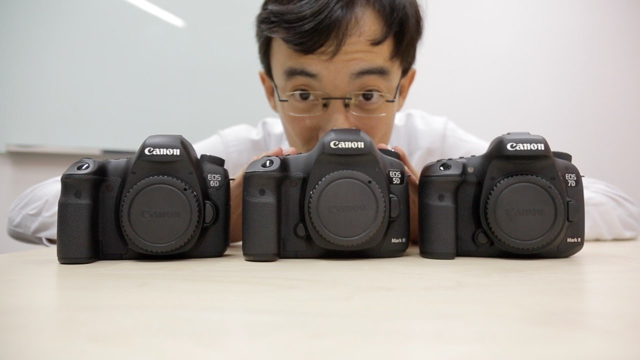 Canon 7D Mark II vs 5D Mark III vs 6D