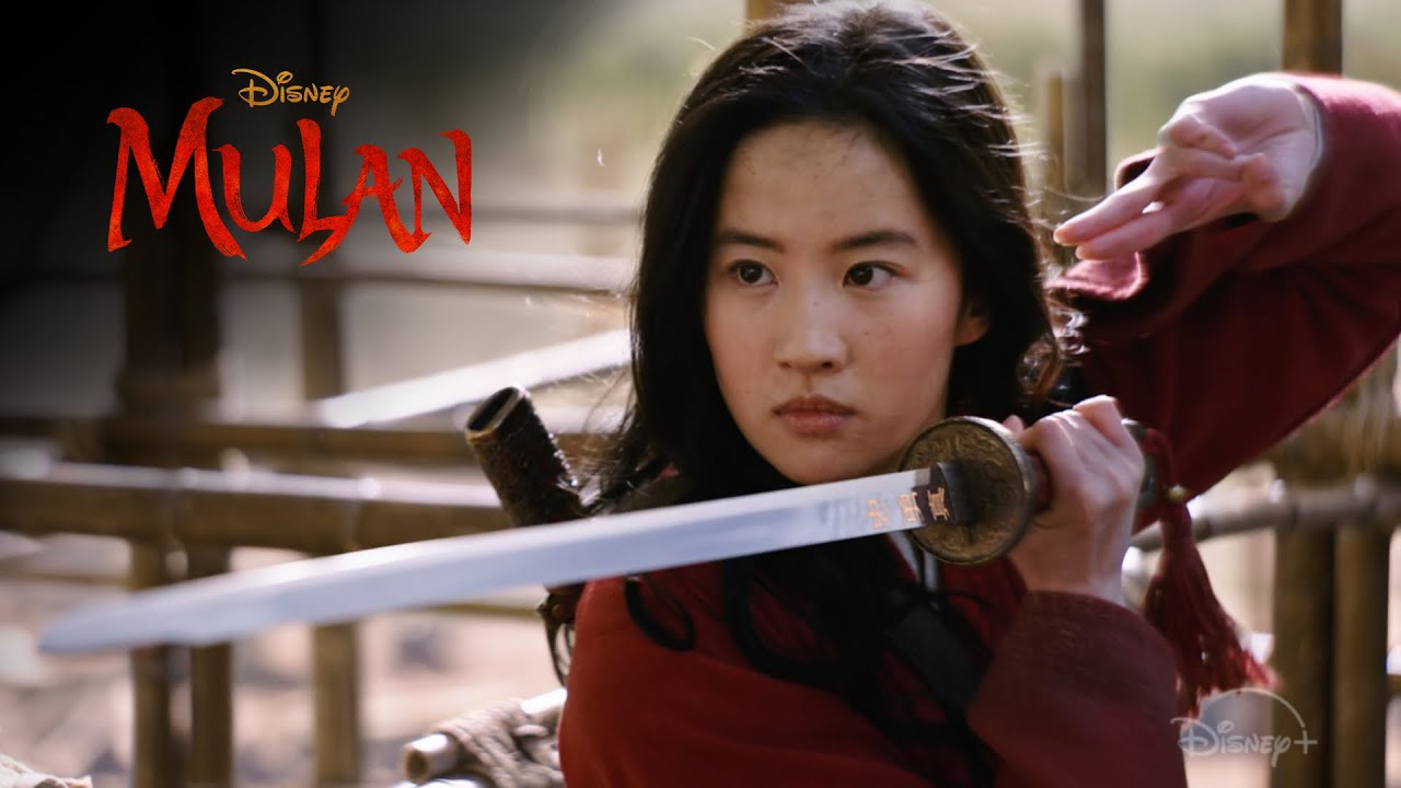 Mulan....on location in N.Z