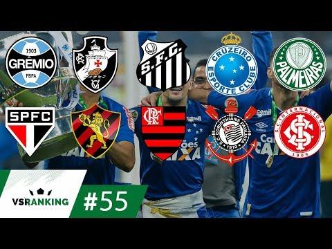 AS 10 MAIORES FINAIS DE COPA DO BRASIL DA HISTÓRIA - VSRanking #55