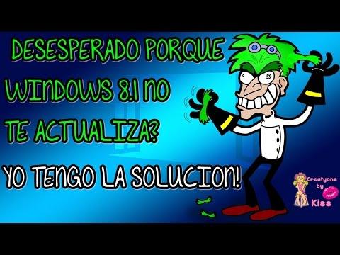 ¿Windows 8.1 no te actualiza? Yo tengo la solución!