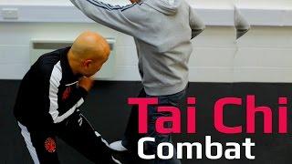 Tai chi combat tai chi chuan - tai chi shoulder attack. Q36