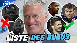 Lenglet, Dubois, Maignan en Équipe de France, pas de Mandanda ni de Lacazette