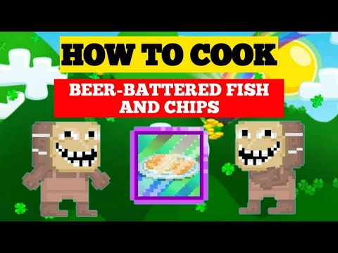 HOW TO COOK BEER-BATTERED FISH AND CHIPS