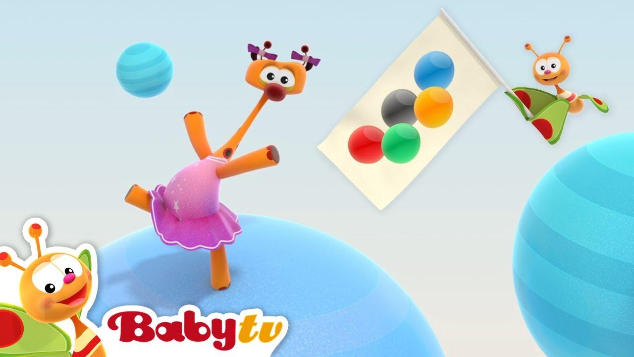 BabyTV Sports Club - Jolie gymnastic routine 🥇 | Olympics  #Tokyo2020