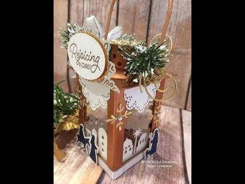 Night in Bethlehem Christmas Keepsake Ornament Stampin' UP!