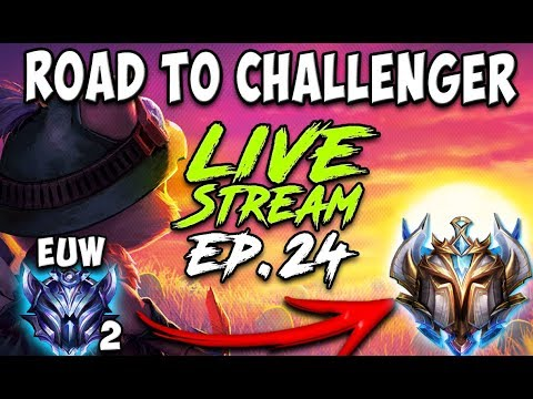 ROAD TO CHALLENGER EP24! EUW DIAMOND 2 😈 MASTER PLAYERS = GOOD FOOD 😈 Season 9 League of Legends