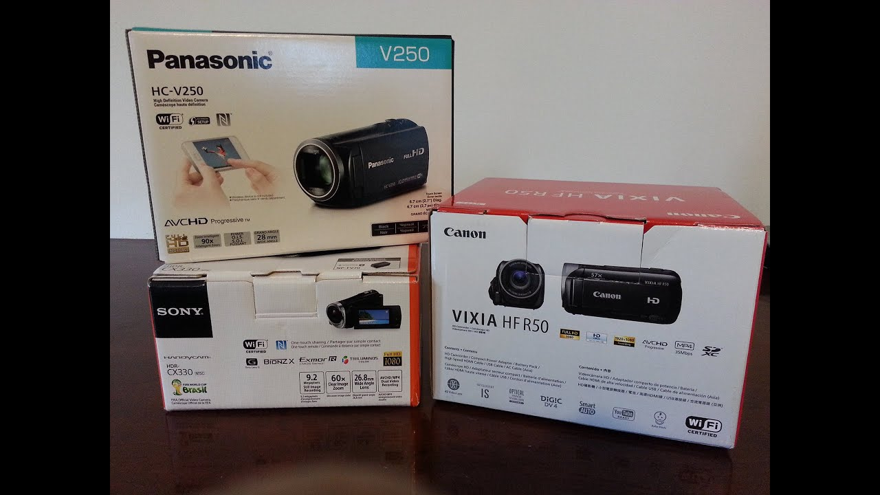 Kindle Vs Sony Reader: Sony Vs Canon Vs Panasonic Camcorder Comparison