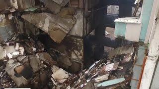 Стен нет, плиты в воздухе: полуразрушенный дом в Волгограде будет снесен