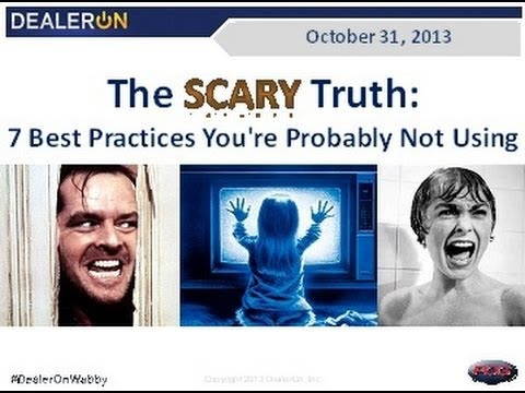 The Scary Truth:  7 Best Practices You're Probably Not Using