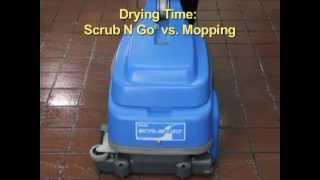 The Scrub N Go® Floor Scrubber Vac System