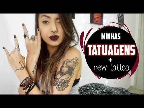 Minhas tatuagens e seus significados + New tattoo