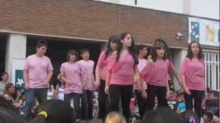 Baile de la semana cultural del Colegio San Francisco de Asis 2ºESO A