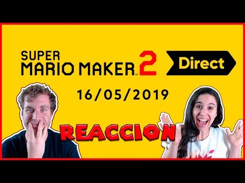 🔴 SUPER MARIO MAKER 2 NINTENDO DIRECT I REACCIÓN I SR BRODY