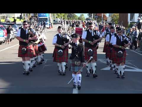 NZ 2018 Parade of Pipe Bands