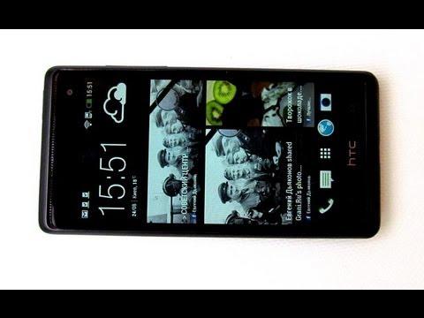 HTC Desire 600 Dual SIM смартфон - видео обзор