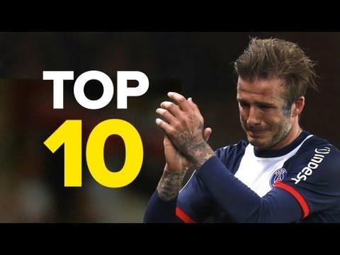 10 Unforgettable David Beckham Moments