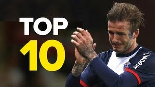 10 Unforgettable David Beckham Moments