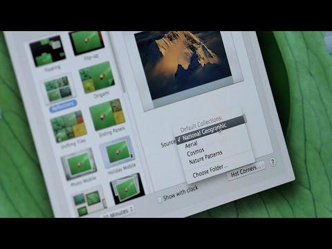 How to Change the Screensaver on a Mac | Mac Basics