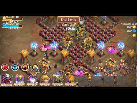 Castle Clash Farming Dungeon 8